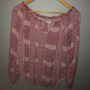 Off the shoulder Abercrombie & Fitch blouse